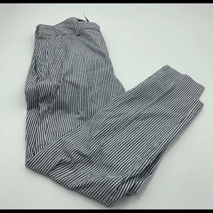 Max Mara Weekend Cotton Seersucker Pants Size 8